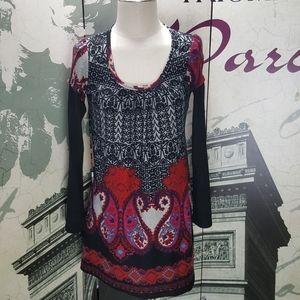 Funky People Boho Style Dress Size S